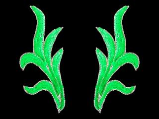 スパンコールモチーフ Neon Green(2236)