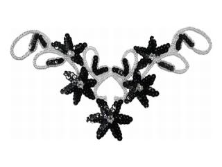 スパンコールモチーフ Black(5119B)