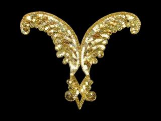 スパンコールモチーフ Gold HG(5152A)