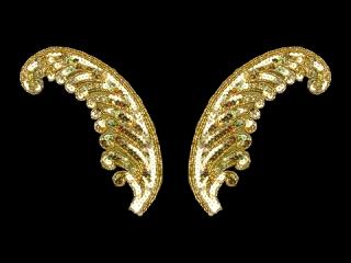 スパンコールモチーフ Gold HG(5152B)