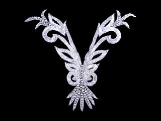 スパンコールモチーフ Silver HG(5161A)