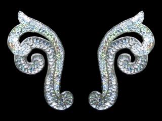 スパンコールモチーフ Silver HG(5172B)