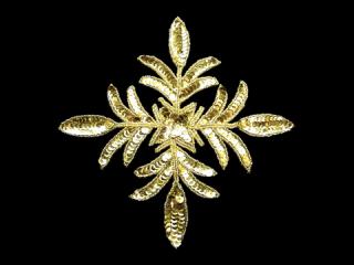 スパンコールモチーフ Gold MT(5182A)