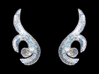 スパンコールモチーフ Silver HG(5211B)