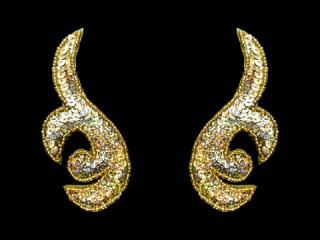スパンコールモチーフ Gold HG(5212B)