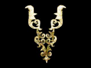 スパンコールモチーフ Gold HG(5222A)