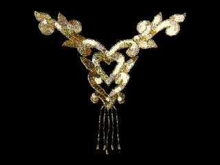 スパンコールモチーフ Gold HG(5232A)