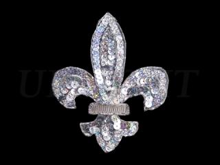 スパンコールモチーフ Silver HG(5281B)