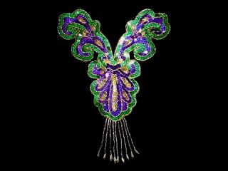 スパンコールモチーフ Multicolor HG(5372A)