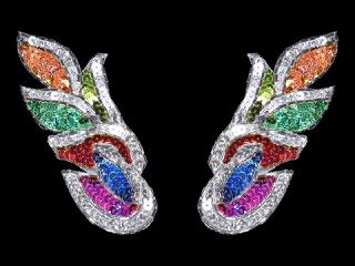 スパンコールモチーフ Multicolor HG(5391B)