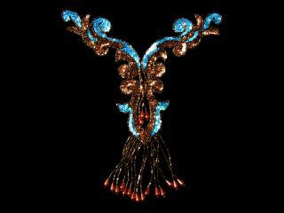 スパンコールモチーフ Multicolor(5421A)