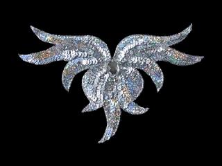 スパンコールモチーフ Silver HG(5431A)