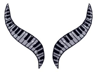 スパンコールモチーフ Multicolor(5531A)