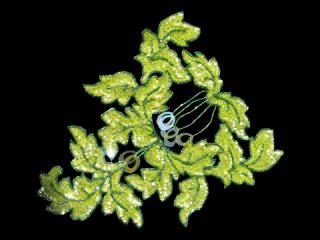スパンコールモチーフ Lime Clear AB(5541A)