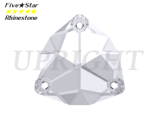 ラインストーン(ガラスストーン) 3272 トリリアント クリスタル(CR)22mm