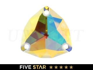ラインストーン(ガラスストーン) 3272 トリリアント オーロラ(AB)22mm