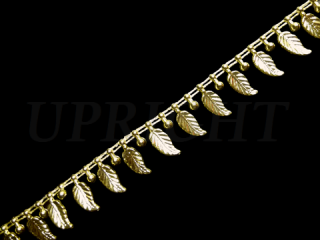 ノンストレッチ 装飾ブレード ゴールド(Cタイプ)