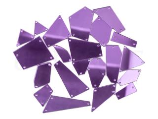 ミラーストーン 1セット(12個入) Purple 004