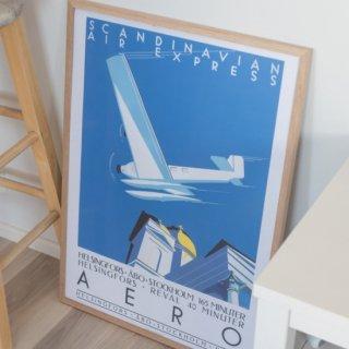 北欧ポスター「カムトゥフィンランド!」ビンテージ旅行ポスター 14種