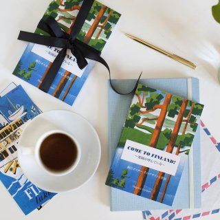 ポケットブック「ビンテージ旅行ポスター」by カムトゥフィンランド