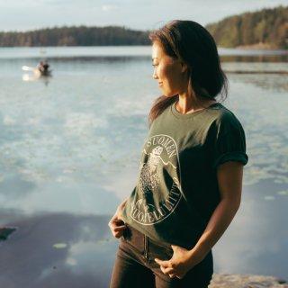 Tシャツ「アザラシロゴ」フィンランド自然保護協会