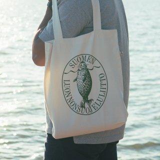 トートバッグ「アザラシロゴ」フィンランド自然保護協会