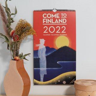 フィンランドカレンダー「カムトゥフィンランド」2022年 2種