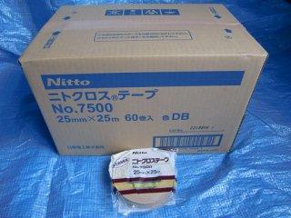 ニトクロステープ25mm×25m巻 1箱(60巻入り) No.7500