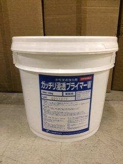 ガッチリ浸透プライマーW 14kg 水性浸透強化剤(ヤブ原産業)