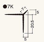 ニューツーウェーコーナー定木7K 1.82m NT7KN1  ケース/ 100本入り(フクビ化学)