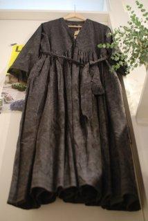 maison de soil(メゾンドソイル)スモールペイズリーラップドレス
