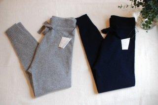 糸衣(イトイ)カシミヤニットパンツ