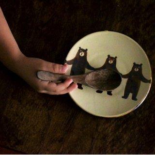 ぼくたちクマ5寸皿(単色)