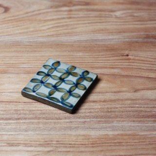 陶板(3寸:花柄)