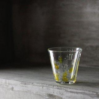琉球ガラスコップ(イエロー)