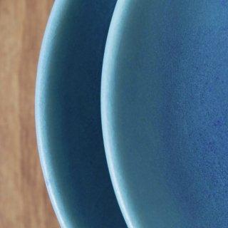 青 _7寸皿