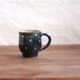 コーヒーカップ(点打:コバルト)