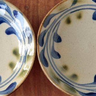7寸皿 (唐草)