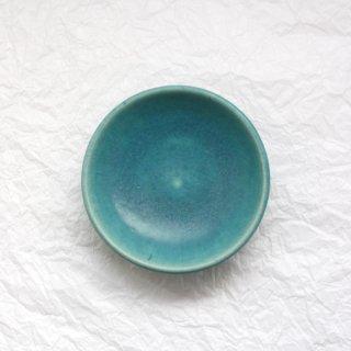 青 _4寸皿