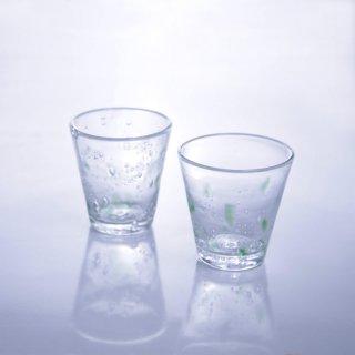 琉球ガラスコップ(グリーン)