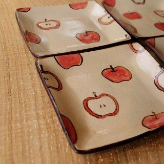 りんご角皿