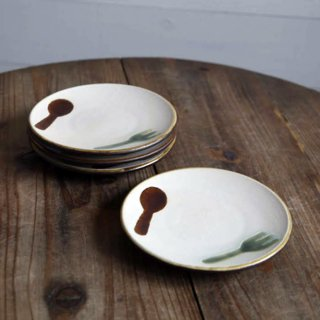 フォークとスプーン皿
