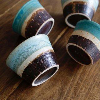 ポトポトカップ(削り模様C:ステッチ)