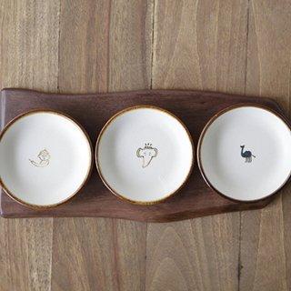 インド豆皿3点セット(ガネーシャ)(シヴァ)(ラクダ)
