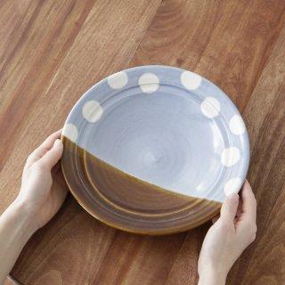 7.5寸皿 水色