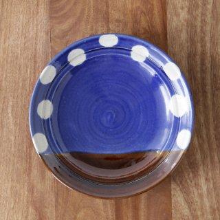 7.5寸皿 青
