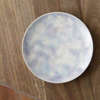 小皿 青釉彩