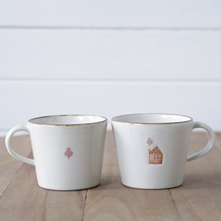 コーヒーカップ 家