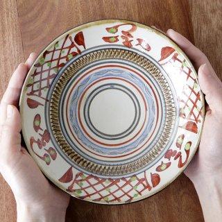 赤絵 6寸皿