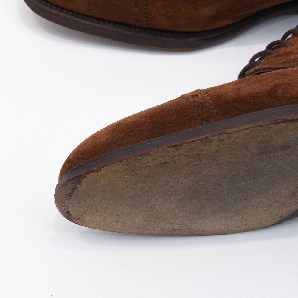 エドワードグリーン 外羽根 スエード  ブラウン サイズ7.5D
